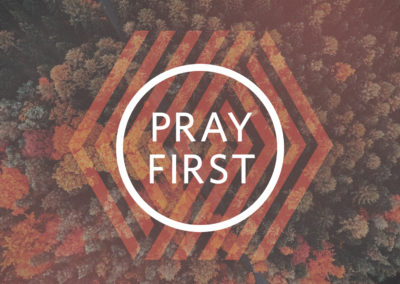 Pray First Ad