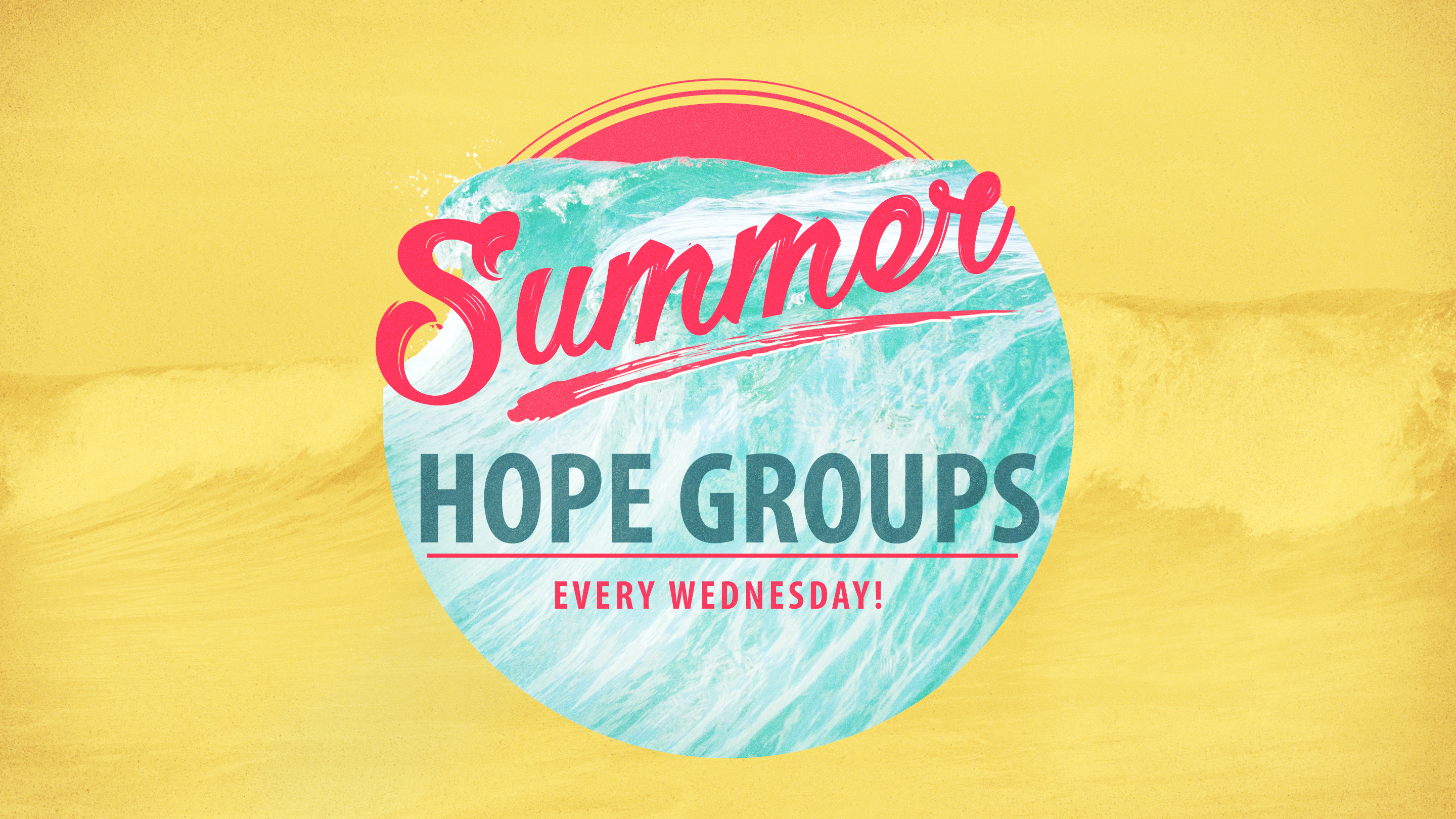 Summer Hope Groups 2017 2